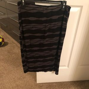 Pencil stretch skirt Large